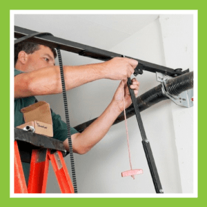 replace garage door torsion springs