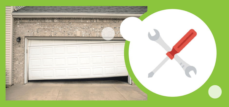 how to fix a garage door off track - Garage Door Off Track