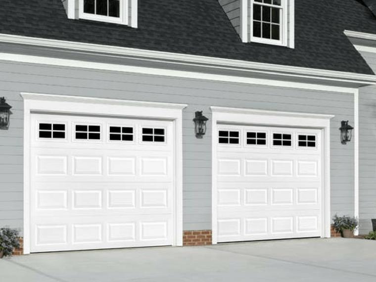 Heritage Garage Door with windows
