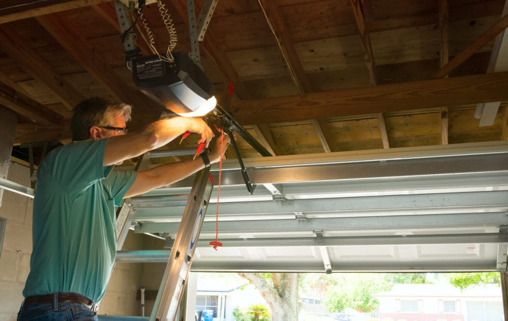 How To Repair A Broken Garage Door Spring