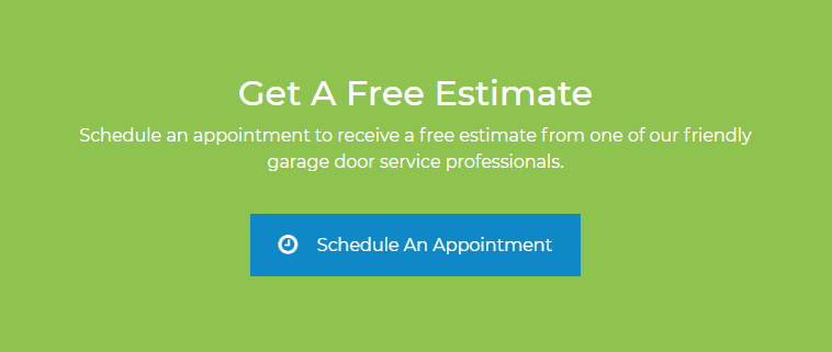 garage door repair free estimate