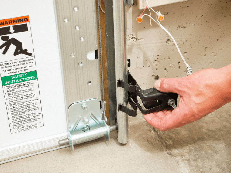 How To Align Garage Door Sensors Your Garage Door Guys