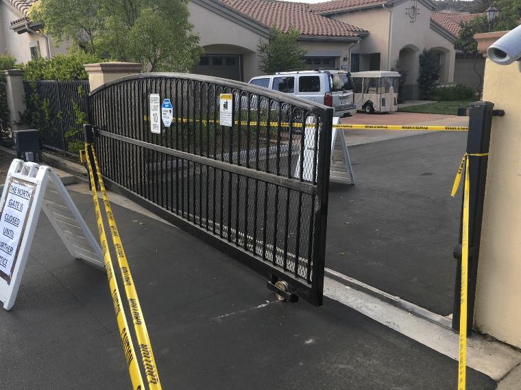driveway gate repair Van Nuys