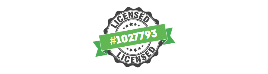 Contractors State License #1027793