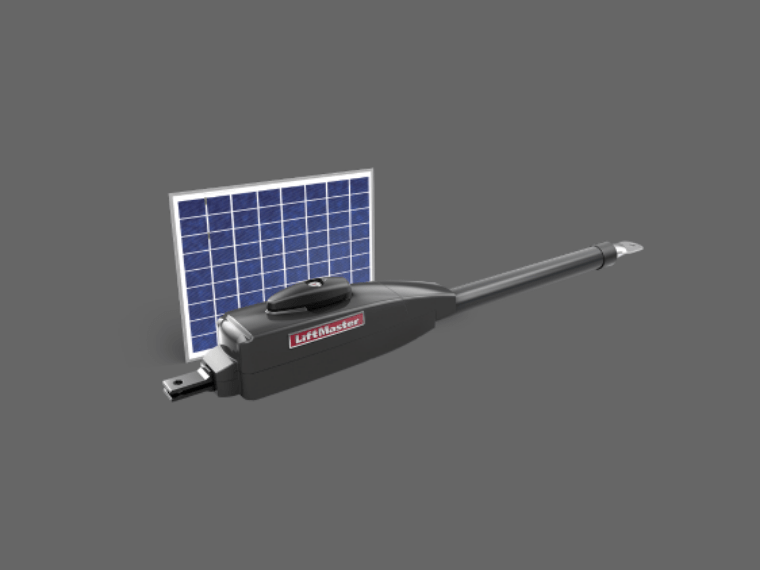 Solar Powered Driveway Gate