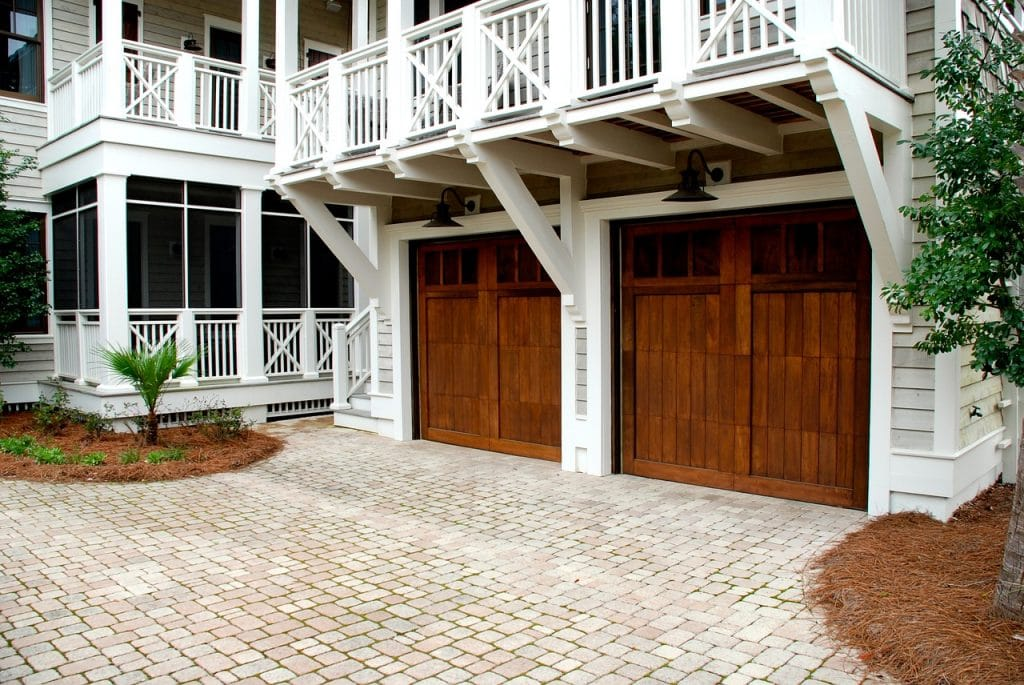 how to service garage door