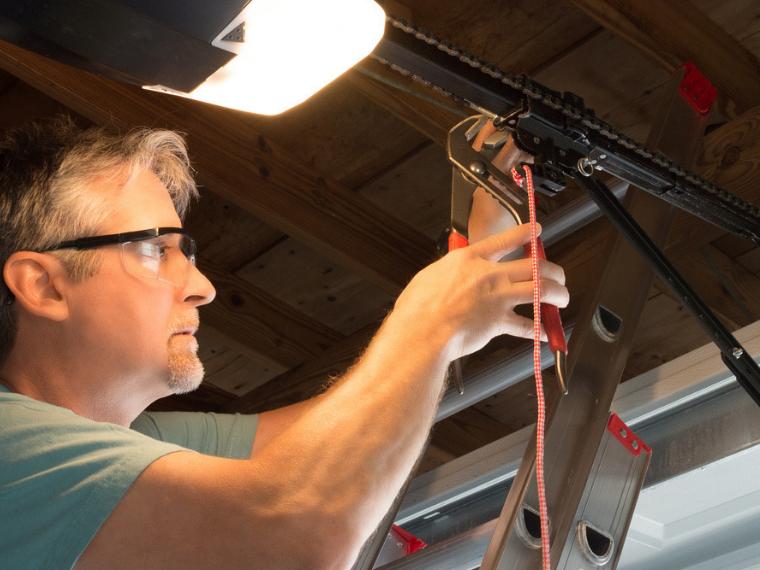 How to Tighten Garage Door Chain