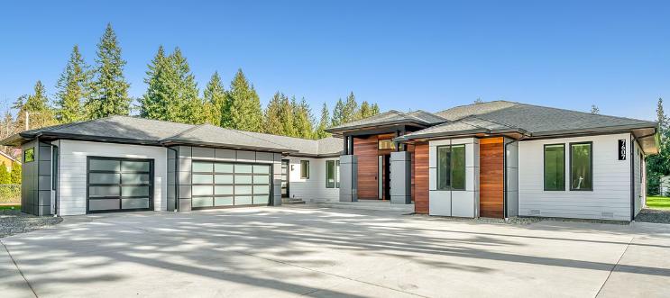 residential garage door styles