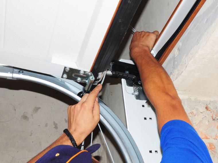 troublehooting a garage door opener